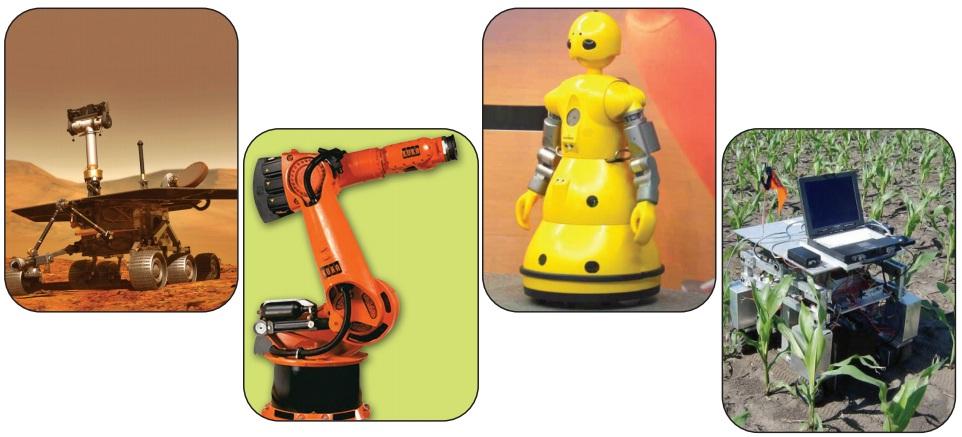 günümüzde kullandığımız bazı robotlar