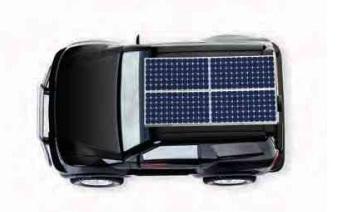 güneş enerjisi araba kullanımı
