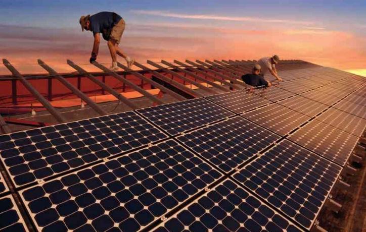 güneş panelleri kurulumu