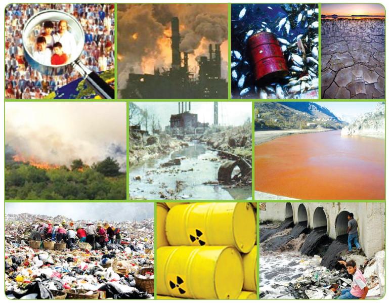 insan kaynaklı çevre sorunları