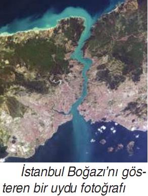 istanbul boğazı uydu görüntüsü