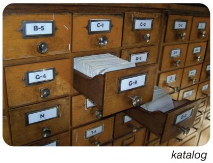 kütüphane kataloğu