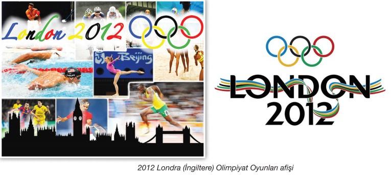 londra olimpiyat afişleri