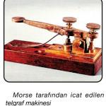 morse tarafından icat edilen telgraf