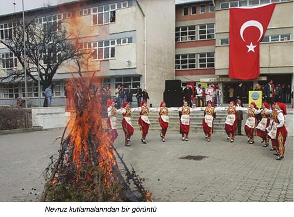 nevruz kutlamalarından bir görüntü