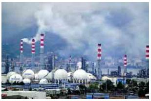 petrol rafinerisi ve hava kirliliği