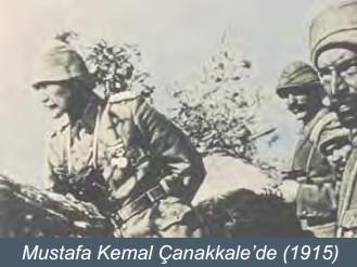 Mustafa Kemal Çanakkalede