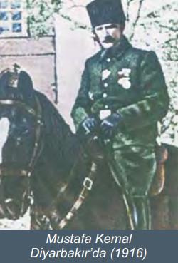 Mustafa Kemal Diyarbakırda