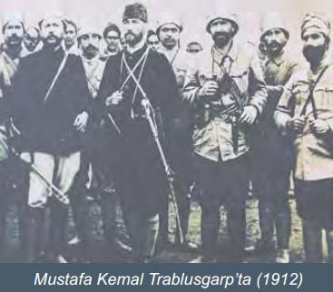 Mustafa Kemal Trablusgarpta