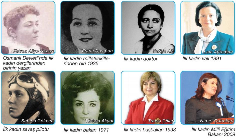 başarılı olan kadınlar