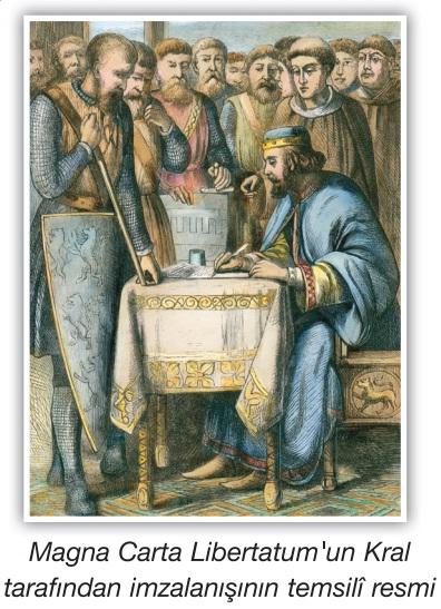 magna cartanın imzalanışı