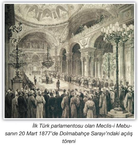 meclisi mebusanın açılış töreni
