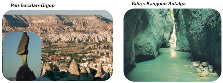 peri bacaları ve kıbrıs kanyonu