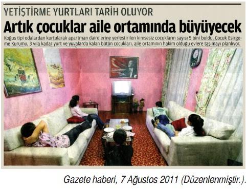 sosyal devlet gazete haberi örneği